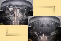 "Авто-Полигон VOLKSWAGEN Polo 1,4; 1,8T 2002-2005г. Защита моторн. отс. ЗМО категории ""E"""