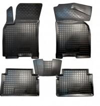 Резиновые коврики в салон Chevrolet Lacetti  AvtoGumm