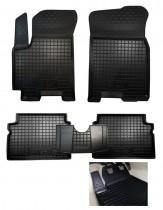 Резиновые коврики в салон Chevrolet Aveo (2006>)