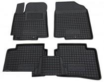 Резиновые коврики в салон Hyundai Accent (2011>)  AvtoGumm