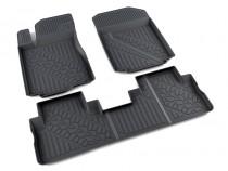коврики в салон Honda CR-V -2012 - полиуретан Агатек