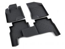 коврики в салон Hyundai Santa Fe 09 - полиуретан Агатек