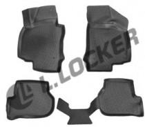 L.Locker Коврики в салон Volkswagen Golf VI 2009- полиуретановые
