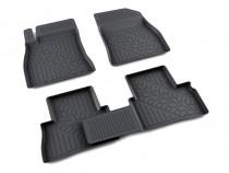 коврики в салон Nissan JUKE - полиуретан Агатек