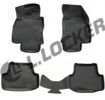 L.Locker Коврики в салон Volkswagen Golf VII 2012- полиуретановые