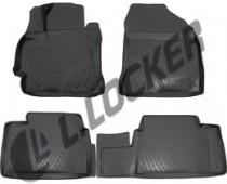 Коврики в салон Toyota Corolla X| sd 3D 2013-   полиуретановые  L.Locker