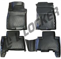 Коврики в салон Toyota Land Cruiser Prado 150 3D 2009-  полиуретановые  L.Locker