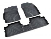 коврики в салон Toyota AURIS - полиуретан Агатек