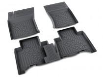 коврики в салон Toyota Land Cruiser Prado120 - полиуретан Агатек