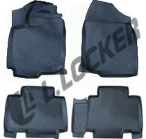 L.Locker Коврики в салон Toyota RAV 4  |V 3D 2012-  полиуретановые