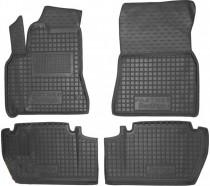 Резиновые коврики в салон Peugeot Partner (2010>) Top (С Подлокотником)