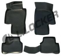 Коврики в салон Volkswagen Passat B7 2011- полиуретановые L.Locker