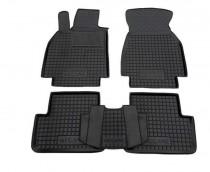 Резиновые коврики в салон Renault Megane lII HB (2010)  AvtoGumm