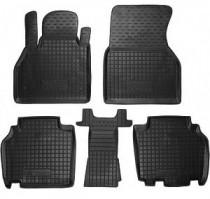GAvto Резиновые коврики в салон Renault Kangoo Ll (2010>)