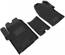Резиновые коврики в салон Renault Trafic ll  02> /Nissan Primastar  AvtoGumm