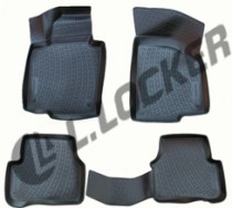 L.Locker Коврики в салон  Volkswagen Passat CC/B7/B6 (box) полиуретановые