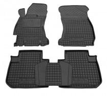 Резиновые коврики в салон Subaru Forester (2013>)       AvtoGumm