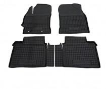 Резиновые коврики в салон Toyota Corolla (2013>)        AvtoGumm