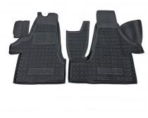 Резиновые коврики в салон Volkswagen T5 (2010>) Transporter 1+2