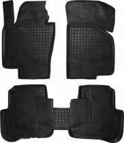Резиновые коврики в салон Volkswagen Passat B6-B7     AvtoGumm