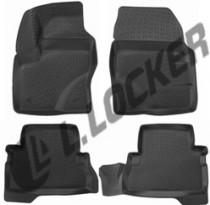 Коврики в салон Ford Kuga 2012- полиуретановые L.Locker