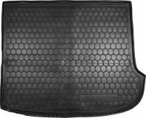 Резиновые коврики в багажник Hyundai Santa-Fe (2006-12) (7мест)