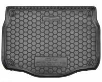 Резиновые коврики в багажник Citroёn C-4 Cactus ( 2015>)