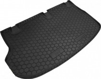 Резиновые коврики в багажник Hyundai Н-1 (Пассажирс.)    AvtoGumm
