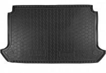 Резиновые коврики в багажник Fiat Doblo (2001>) (5м) Корот. база с сеткой