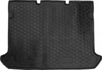 Резиновые коврики в багажник Fiat Doblo (2001>) (5м) Корот. база без сетки