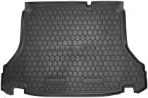 Резиновые коврики в багажник Daewoo Lanos (Седан)