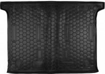 Резиновые коврики в багажник Fiat Doblo (2010>) (5 Мест) Корот. база    AvtoGumm