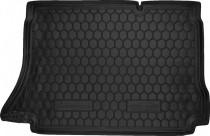 Резиновые коврики в багажник Daewoo Lanos (Хетчбэк)  AvtoGumm