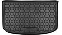 Резиновые коврики в багажник Kia Soul (2014>) Верхняя полка (с органайзером)