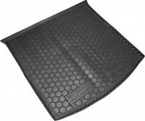 Резиновые коврики в багажник Mitsubishi Outlander (2012>) (с органайзером)  AvtoGumm