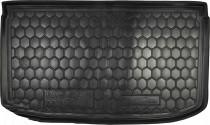 Резиновые коврики в багажник Nissan Micra (2013>)