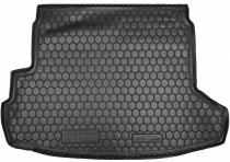 Резиновые коврики в багажник Nissan X-Trail T31 (2007>) (с органайзером)