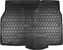 Резиновые коврики в багажник Opel Astra H (Хетчбэк)