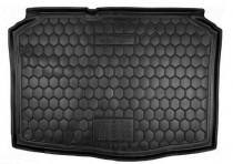 Резиновые коврики в багажник Skoda Fabia LI (2007>) (Хетчбэк)