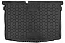 Резиновые коврики в багажник Skoda Fabia LII (2015>) (Хетчбэк)