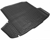 Резиновые коврики в багажник Skoda Octavia A7 (2013>) (Универсал) (с боксом усилит.)