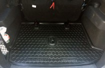 Резиновые коврики в багажник Renault Lodgy (2013>)  AvtoGumm