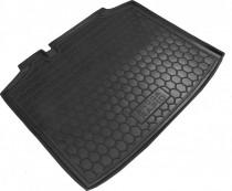 Резиновые коврики в багажник Skoda Rapid (Спейсбэк)
