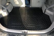 Резиновые коврики в багажник Toyota Highlander (2008>) (7 Мест)  AvtoGumm