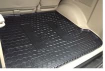 Резиновые коврики в багажник Toyota Land Cruiser 120 (Prado) (7 мест)  AvtoGumm