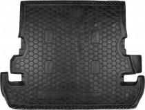 Резиновые коврики в багажник Toyota Land Cruiser 200 (7 мест)