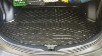 Резиновые коврики в багажник Toyota Rav-4 (5 дв.2013>) (с докаткой)  AvtoGumm