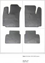 Резиновые коврики в салон Fiat Doblo I 5os (2001-2008)