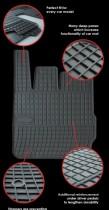 EL TORO Резиновые коврики в салон Fiat Doblo I 5os (2001-2008)
