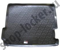 Коврики в багажник BMW X3 (F25) (10-) - пластик